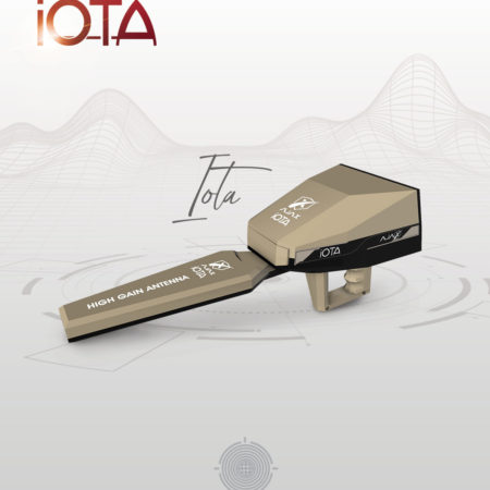 Ajax Iota Treasures Detector With an integrated system to detect treasures from long distances and high techniques..
