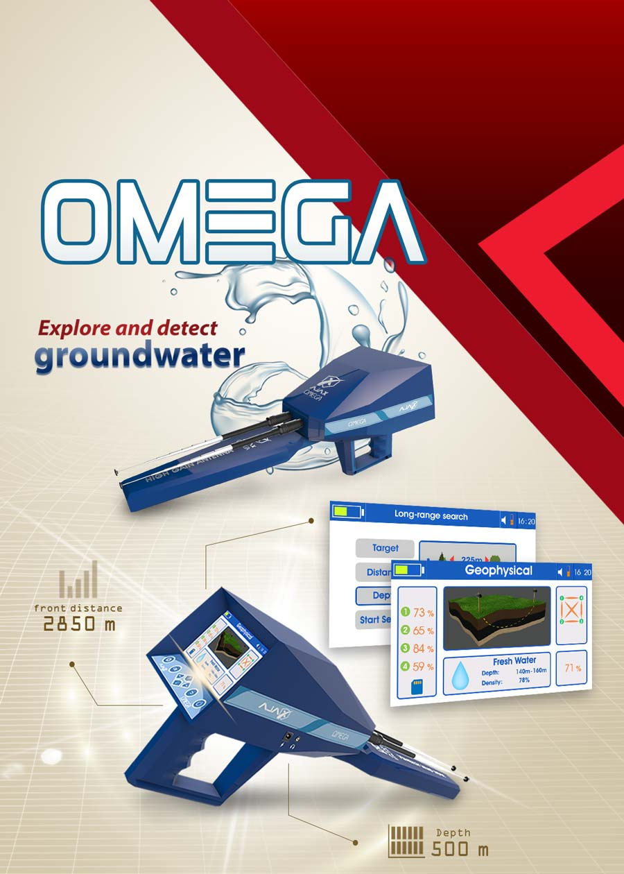 AJAX Omega Ground water Detector
