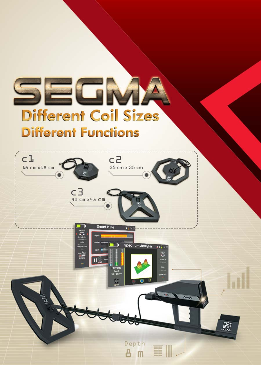 AJAX Segma The best metal detector